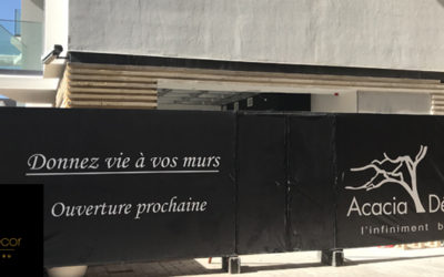 Un nouvel atelier show-room pour Acacia Décor