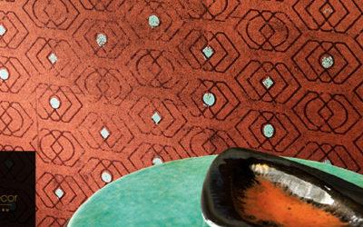 Saphir et porte-bonheur… Le Design est un songe by Elitis