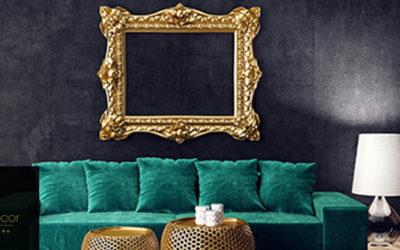 Le design est d'or et d'argent   La peinture d'excellence by Coprabel