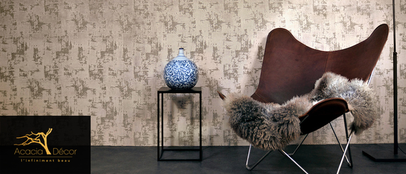 "Exclusivement chez Acacia Décor : DWC Dutch Wall textile Company, collection ""Lodge"""