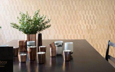 Quelques secondes d'inspiration… ELITIS collection Essences de bois model Nappées