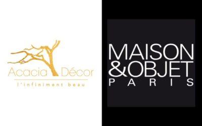 Quelques secondes d'inspirations… «ACACIA DÉCOR, vous accompagne à MAISON & OBJET PARIS du 17 au 21 Janvier 2020»