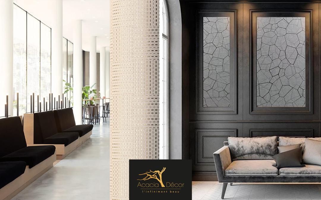 acacia decor tapetex lin et soie